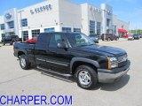 2004 Black Chevrolet Silverado 1500 Z71 Extended Cab 4x4 #49135517