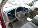 1998 Toyota Sienna LE Beige Interior