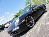 2008 Basalt Black Metallic Porsche 911 Carrera S Cabriolet #49135520