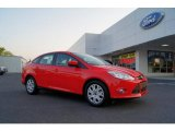 2012 Race Red Ford Focus SE Sedan #49135745