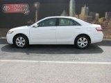 2008 Super White Toyota Camry LE #4889821
