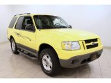 2003 Zinc Yellow Ford Explorer Sport XLT 4x4 #49136111