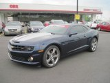 2010 Imperial Blue Metallic Chevrolet Camaro SS/RS Coupe #49135916
