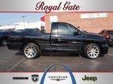 2005 Black Dodge Ram 1500 SRT-10 Regular Cab #49135573