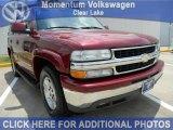 2004 Sport Red Metallic Chevrolet Tahoe LT #49136307