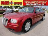 2008 Inferno Red Crystal Pearl Chrysler 300 LX #49136142