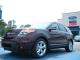 2011 Bordeaux Reserve Red Metallic Ford Explorer Limited #49195051