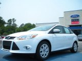 2012 Oxford White Ford Focus SE Sedan #49195053