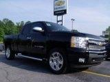 2011 Black Chevrolet Silverado 1500 LT Extended Cab 4x4 #49195215