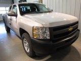 2010 Sheer Silver Metallic Chevrolet Silverado 1500 Extended Cab 4x4 #49195373