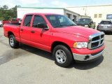 2005 Flame Red Dodge Ram 1500 ST Quad Cab #49195225