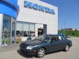 2001 Cypress Green Hyundai Sonata  #49195064