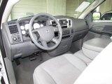 2007 Dodge Ram 1500 SLT Regular Cab Medium Slate Gray Interior