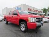 2011 Victory Red Chevrolet Silverado 1500 LS Crew Cab #49195398