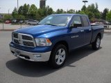 2011 Deep Water Blue Pearl Dodge Ram 1500 Big Horn Quad Cab #49195560