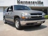 2001 Light Pewter Metallic Chevrolet Suburban 1500 LS 4x4 #49195402