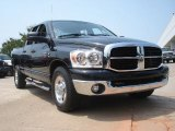 2007 Brilliant Black Crystal Pearl Dodge Ram 3500 SLT Quad Cab #49195404