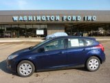2012 Kona Blue Metallic Ford Focus SE 5-Door #49195255