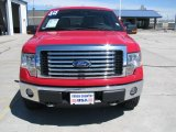 2010 Vermillion Red Ford F150 XLT SuperCrew 4x4 #49195425