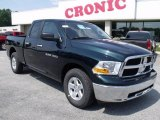 2011 Hunter Green Pearl Dodge Ram 1500 SLT Quad Cab #49195150
