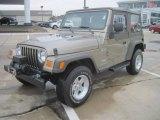 2006 Light Khaki Metallic Jeep Wrangler X 4x4 #49195300