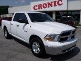2010 Stone White Dodge Ram 1500 SLT Quad Cab #49195156
