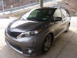 2011 Toyota Sienna Predawn Gray Mica