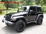 2010 Black Jeep Wrangler Rubicon 4x4 #49195461
