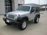 2011 Bright Silver Metallic Jeep Wrangler Sport S 4x4 #49195319