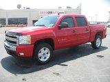 2011 Victory Red Chevrolet Silverado 1500 LT Crew Cab 4x4 #49195324