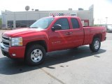 2011 Victory Red Chevrolet Silverado 1500 LT Extended Cab 4x4 #49195329