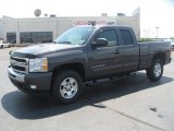 2011 Taupe Gray Metallic Chevrolet Silverado 1500 LT Extended Cab 4x4 #49195330