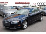 2008 Deep Sea Blue Pearl Effect Audi A4 2.0T quattro S-Line Sedan #49195340