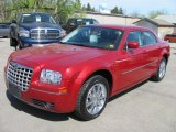 2008 Inferno Red Crystal Pearl Chrysler 300 Touring AWD #49195611