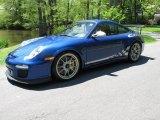 2011 Porsche 911 Aqua Blue Metallic/White Gold Metallic