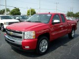 2011 Victory Red Chevrolet Silverado 1500 LT Extended Cab #49244695