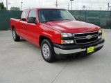 2007 Victory Red Chevrolet Silverado 1500 Classic LS Extended Cab #49244843