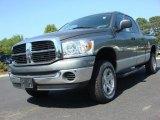 2007 Mineral Gray Metallic Dodge Ram 1500 Big Horn Edition Quad Cab 4x4 #49244703