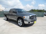 2008 Mineral Gray Metallic Dodge Ram 1500 Lone Star Edition Quad Cab #49244847