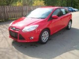2012 Race Red Ford Focus SE 5-Door #49245198