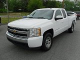 2008 Summit White Chevrolet Silverado 1500 LS Extended Cab #49245205
