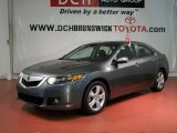 2010 Polished Metal Metallic Acura TSX Sedan #49195668