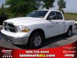 2011 Bright White Dodge Ram 1500 SLT Quad Cab #49244755