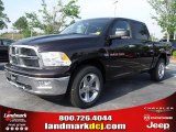 2011 Rugged Brown Pearl Dodge Ram 1500 Big Horn Crew Cab #49244756