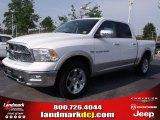 2011 Bright White Dodge Ram 1500 Laramie Crew Cab #49244757