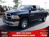 2011 Hunter Green Pearl Dodge Ram 1500 ST Quad Cab #49244759