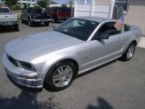 2005 Satin Silver Metallic Ford Mustang GT Premium Coupe #49245055