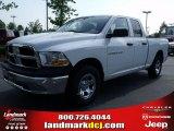 2011 Bright White Dodge Ram 1500 ST Quad Cab #49244766