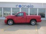 2004 Flame Red Dodge Ram 1500 SRT-10 Regular Cab #49244783