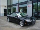 2008 Brilliant Black Audi A4 2.0T quattro Cabriolet #49244786